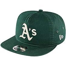 New Era Chain Stitch 9Fifty Snapback Cap Oakland Athletics Grün 62b718513a