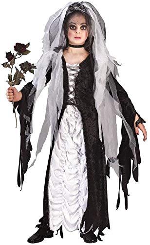 Braut Der Finsternis Kostüm - Horror-Shop Braut der Finsternis Kinderkostüm