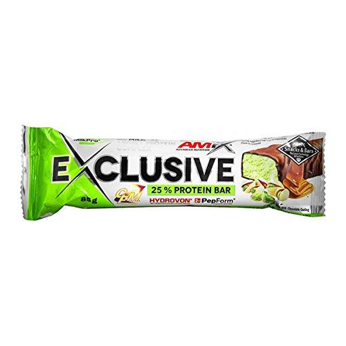 Exclusive Barrita 25% Proteinas - 85g - Sabor Frutas del bosque