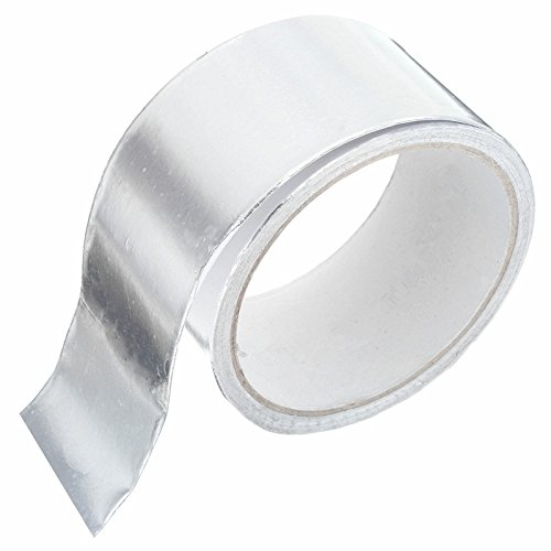 Swiftpak Aluminium-Klebeband, 50 mm x 50 m, silberfarben, 24 Stück