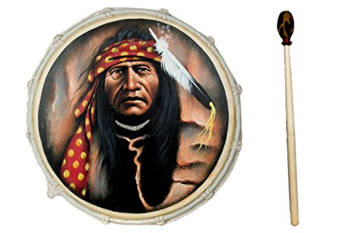 40cm-shaman-frame-drum-natural-goat-skin-bodhran-shamanic-include-beater-r6