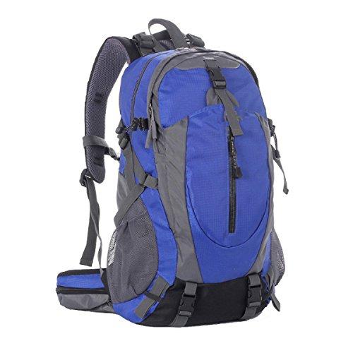 TUOZA Mens Freizeit Bergsteigen Mit Großer Kapazität Rucksack Multifunktions-Reise Blue