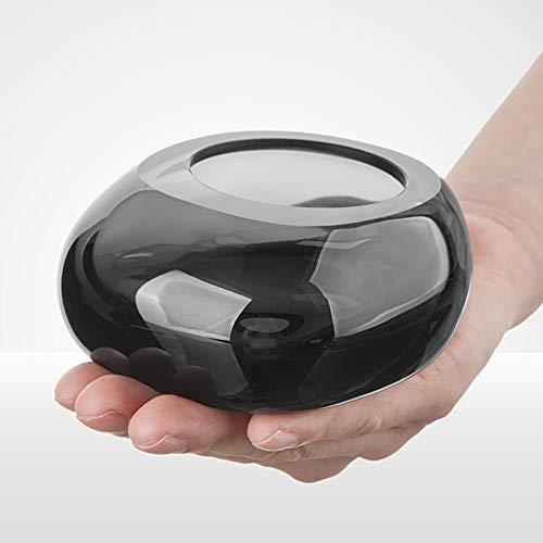CUTE ASH Crystal Aschenbecher,klare Kristall Glas Zigarre Aschenbecher Tabletop Dekoration Schönes Geschenk Für Männer Frauen-b