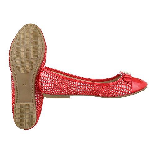 Ital-Design - Scarpe chiuse Donna Rot