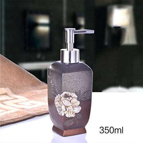 LXFP Creative European Press Bottle Shampooing Bouteille De Gel De Douche (Couleur : B, Taille : 350ml)