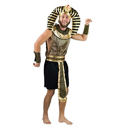 Bodysocks® Ägyptischer Pharao Königs-Kostüm für Männer (large) (Ägyptischen Kostüm Männer)