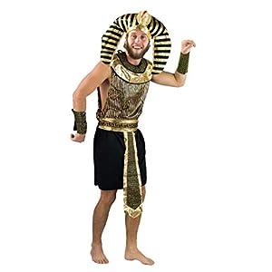 Bodysocks Fancy Dress Disfraz de Emperador Faraón para Hombre (Grande)