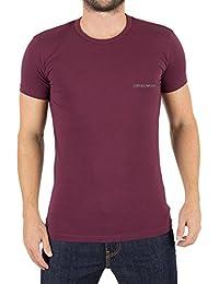Emporio Armani Homme Left Chest Logo T-Shirt, Rouge