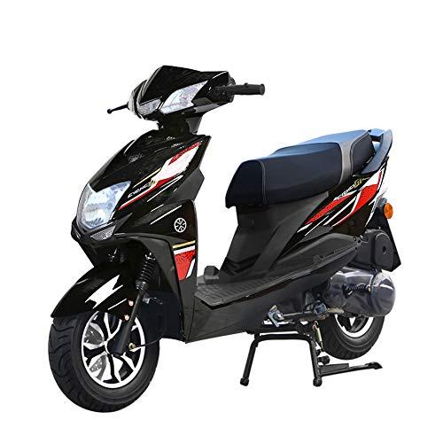 Wheel-hy Scooter de vélomoteur de Scooter de Moto de Scooter de Moto du cyclomoteur 125cc, Scooter légal de Rue complètement Automatique, Vitesse 80km / h,Orange
