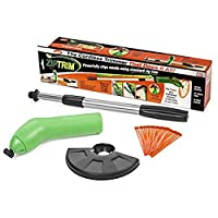 strong Zip Trim Cordless Trimmer - Handhold Extensible Lightweight Garden Grass Trimmer - Powerfully Clips Weeds Using Standard Zip Ties