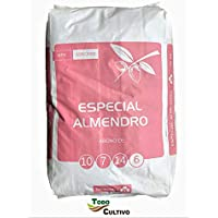 Todo Cultivo Abono Especial Almendro NPK (s) 10-7-14 (6) con Hierro (fe). Saco de 25 kg.