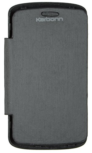 iCandy™ Synthetic Leather Flip Cover For Karbonn A3 Plus - BLACK  available at amazon for Rs.149