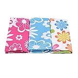Mmengyuan Cucina Bagno Strofinacci Asciugamano di Stoffa Assorbente Asciugamano per Piatti Multifunzione Pulizia della Cucina Stampa Domestica Panno di Pulizia della Cucina