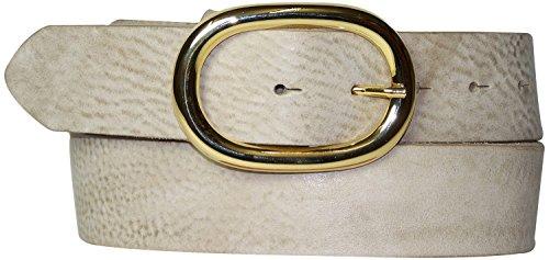Fronhofer Ceinture intemporelle de 4 cm de large   Boucle de ceinture  sobre, ovale et ff1cfed608a