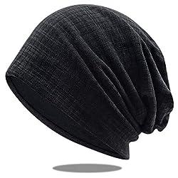 OCTERING Slouch Beanie Mütze Damen und Herren Baumwolle Elastisch Unisex