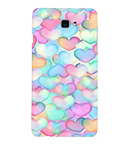 EPICCASE Colorful Hearts Mobile Back Case Cover For LeEco Letv Le 2 (Designer Case)