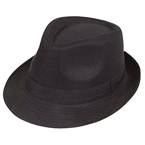 Black Fedora (Plain)