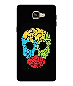Sketchfab Top Airbrush Skull Tatoo Latest Design High Quality Printed Soft Silicone Back Case Cover For Samsung Galaxy A9 Pro