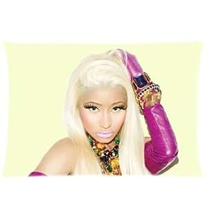 Custom Nicki Minaj Pillow Case Protection Rectangle Pillowcase Cover 20x30 inch One Side