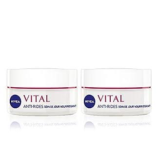 Nivea Vital antiarrugas cuidado día nourrissant pieles matures y secas 50ml–juego de 2