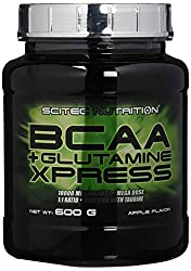 Scitec Nutrition Amino BCAA + Glutamine Xpress, Apfel, 600g
