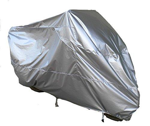 Diamond Candy Telo coprimoto impermeabile, antipolvere, anti UV, traspirante, per esterni, con sacca per il trasporto, misura XXXL 295*110*140, colore: Argento