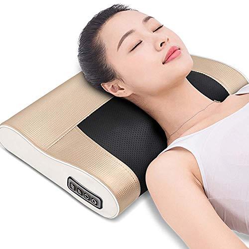 LPY-ZT Masajeador Cervical Cintura Cuello Cuello Hombro Espalda Cuerpo Masaje eléctrico Almohada Masajeador casero