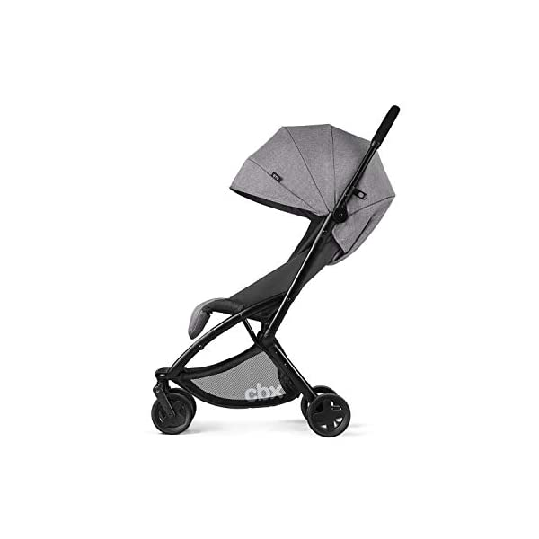 cbx ETU Ultra Compact Pushchair, Incl. Rain Cover and Travel Bag, from Birth to 15 kg, Smoky Anthracite CBX Etui jeans blue Item number: 518002497 Color: jeans blue 3