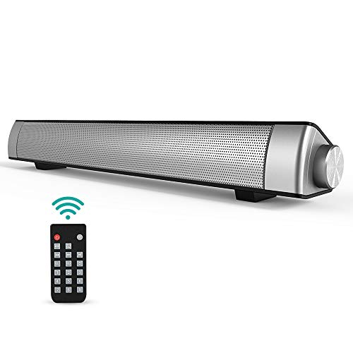 Barra de Sonido, GIARIDE Bluetooth 4.1 Altavoz con Cable e inalámbrico Teatro...