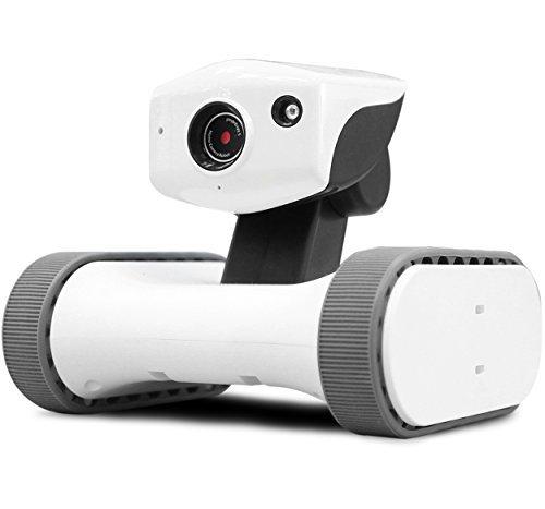 Appbot Riley Roboter mit Sicherheits Kamera, HD-Video, IR-Nachtsicht, weltweit über Internet fernsteuerbar