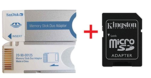 E2S Memory Stick MS PRO DUO Card Adapter For 8GB 4GB 2GB 1GB