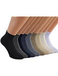 Vitasox Kurzsocken Herren Baumwolle Socken Sneakersocken Sportsocken Quarter einfarbig ohne Naht 6er oder 12er Pack