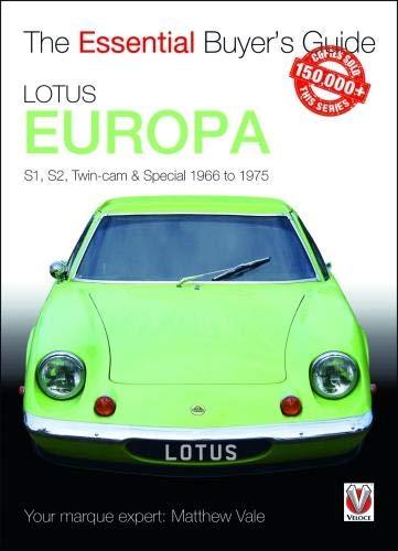 Lotus Europa (Essential Buyer's Guide) por Matthew Vale