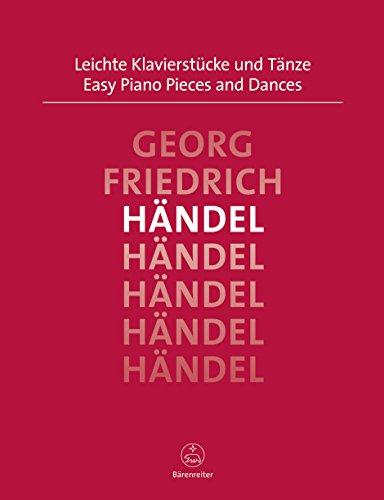 Leichte Klavierstücke und Tänze. Spielpartitur(en), Sammelband