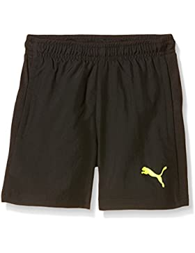 Puma Hose It Evotrg Woven Shorts, Infantil, Color Negro - Black-Atomic Blue, tamaño 17 años (176 cm)
