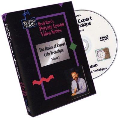 Basics Of Expert Coin Technique Volume 2 by Brad Burt - DVD