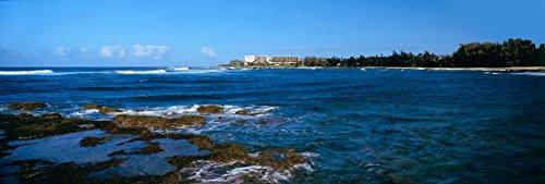 Panoramic Images - Kahala Resort and Hotel on The Coast Honolulu Oahu Hawaii USA Photo Print (91,44 x 30,48 cm)