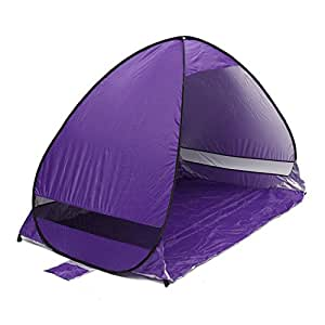pop up tent purplesalt automatic instant portable family beach camping shelter travel. Black Bedroom Furniture Sets. Home Design Ideas