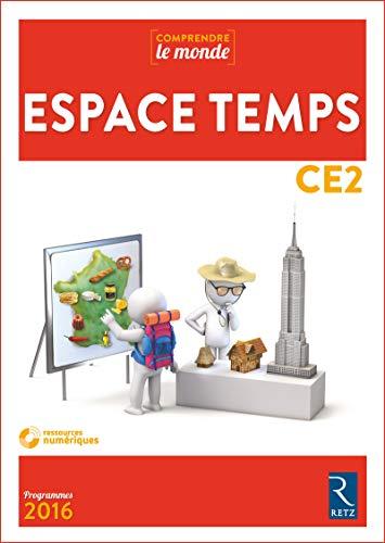 Espace Temps CE2 (+ CD-Rom) par Elsa Bouteville