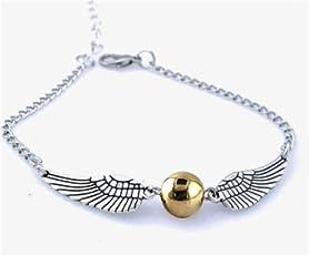Xiton Harry Potter: Boccino d'Oro braccialetto o una collana - SPEDITO DAL REGNO UNITO