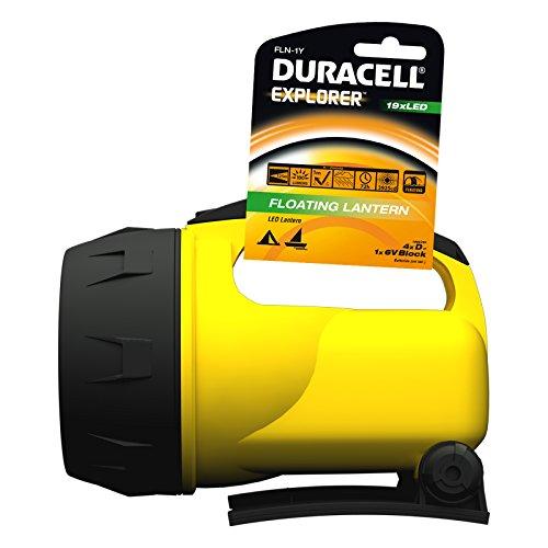 Duracell Explorer FLN-1Y (Gelb) [LED-Taschenlampe, 125m