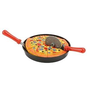 speel Goed s0114/901-Cocina de Juguete-Alimentos Pizza