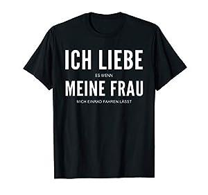 Ich Liebe Meine Frau Einrad T-Shirt