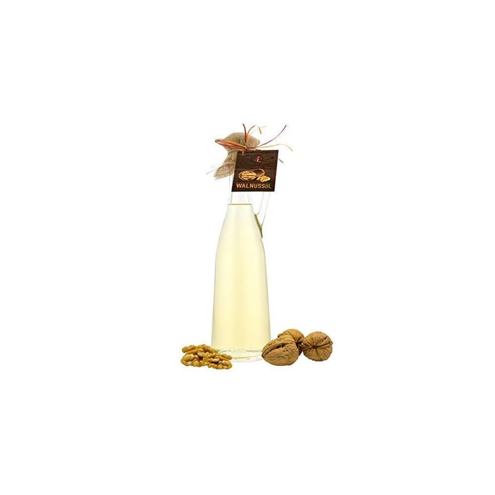 Walnussl Walnuss L Naturreines Kaltgepresstes Walnussl Aus Usa Kalifornien In Premiumqualitt Amphore Romana Flasche 750ml
