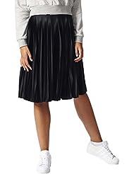 adidas Pleated Skirt Falda, Mujer, Negro, 38