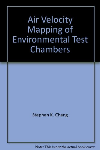 Air Velocity Mapping of Environmental Test Chambers