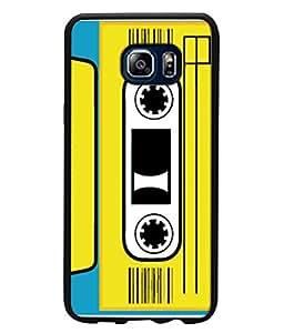 FUSON Designer Back Case Cover for Samsung Galaxy Note 5 :: Samsung Galaxy Note 5 N920G :: Samsung Galaxy Note5 N920T N920A N920I (Tape Cassette Black Film Screws Old Player)