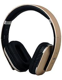 August EP650 – Auriculares Bluetooth NFC Inalámbricos con AptX, Color Dorado