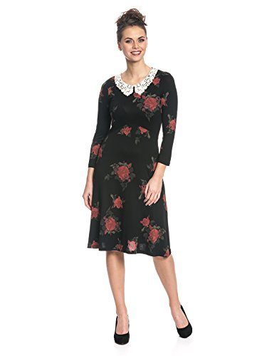 Vive Maria My Sweet Rose Dress, Vestito Donna Mehrfarbig (Black Allover)