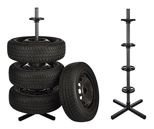 Felgenbaum Reifenständer Felgenständer Stahl für 4 Räder Vierbeinstandfuß
